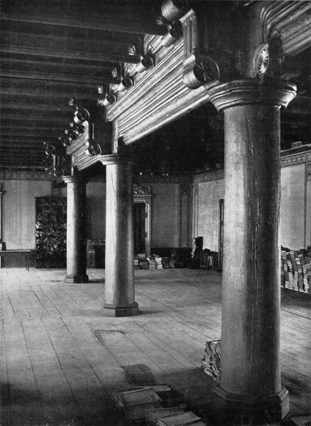 Zamek – wnętrze  Refektarz (sala Bogusława) fot. sygn. Staatliche Bildstelle, Berlin, lata 30. XX wieku MNS/A.Foto/15427